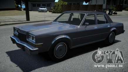 Dodge Diplomat 1983 pour GTA 4