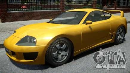 Dinka Jester Classic Revised Rims v1 für GTA 4