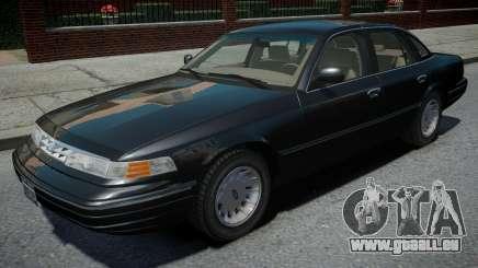 Ford Crown Victoria 1995 für GTA 4