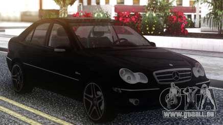 Mercedes-Benz C55 W203 AMG pour GTA San Andreas