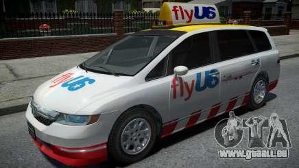 Honda Odyssey FlyUS 2006 pour GTA 4