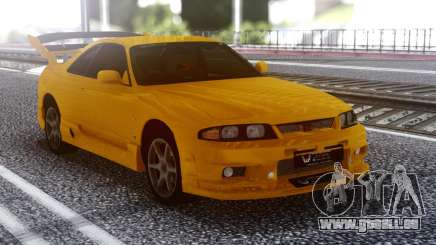 Nissan Skyline R32 GT-R Orange für GTA San Andreas
