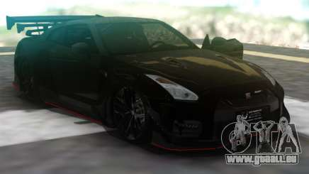 Nissan GT-R R35 Black für GTA San Andreas