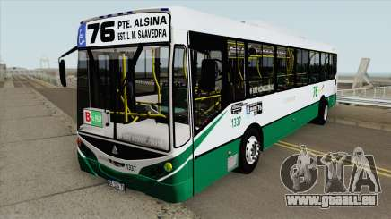 Linea 76 Metalpar Iguazu II Agrale MT17 Interno pour GTA San Andreas