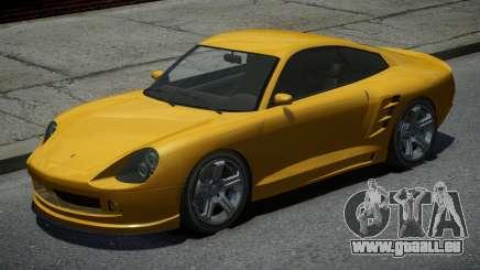Pfister Comet Yellow pour GTA 4