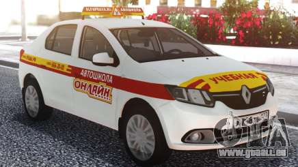Renault Logan École De Conduite En Ligne pour GTA San Andreas