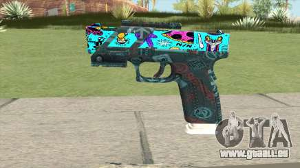 Desert Eagle (Cartoon Skin) pour GTA San Andreas