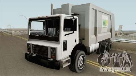 Rearload Trashmaster pour GTA San Andreas