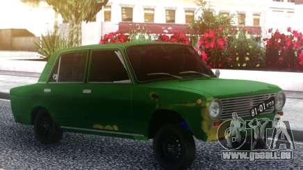 VAZ 2101 Vert pour GTA San Andreas