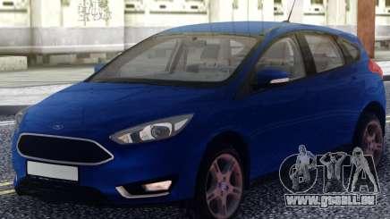 Ford Focus 3 Original pour GTA San Andreas