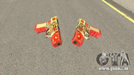 Rules of Survival G18C Suzaku pour GTA San Andreas