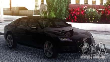 Audi Rs7 Black Edition pour GTA San Andreas