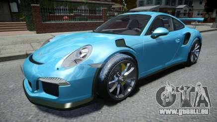 Porsche 911 GT3 RS 2016 für GTA 4