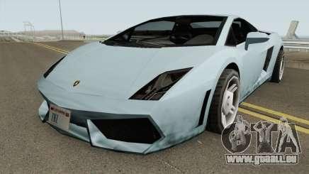 Lamborghini Gallardo SA Style TCGTABR pour GTA San Andreas
