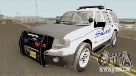 Ford Expedition 2008 (Alaska State Trooper) für GTA San Andreas
