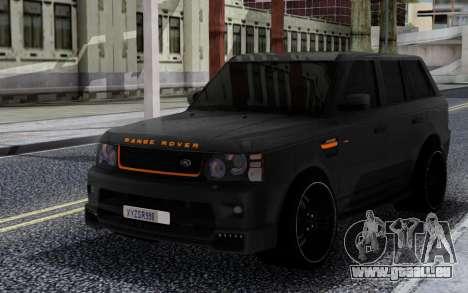 Land Rover Range Rover Sport 2012 Reload pour GTA San Andreas