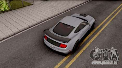 Ford Mustang Shelby GT500 2019 pour GTA San Andreas