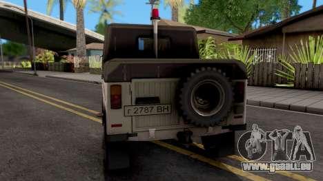 LuAZ-2403 Service D'Ambulance pour GTA San Andreas