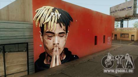 XXXTentacion Wall pour GTA San Andreas
