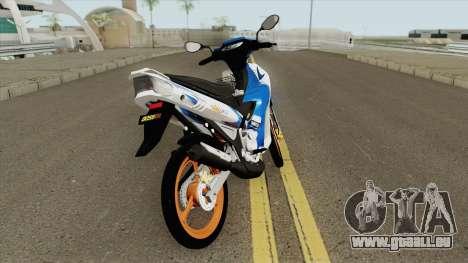 Yamaha 125z Full STD v2 pour GTA San Andreas