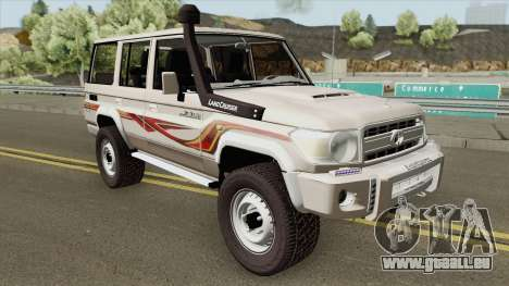 Toyota Land Cruiser LC76 V1 pour GTA San Andreas