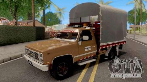 Chevrolet C10 Con Estacas pour GTA San Andreas