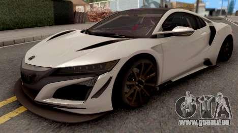 Acura NSX 2017 pour GTA San Andreas