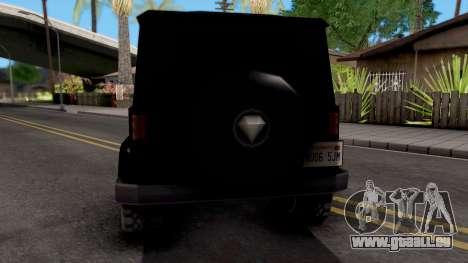 Benefactor Dubsta pour GTA San Andreas