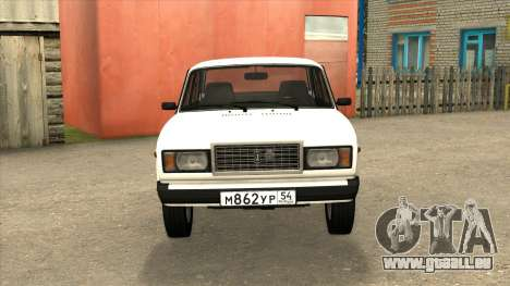 2107 de Vidange pour GTA San Andreas