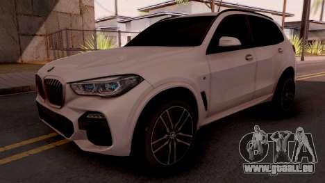 BMW X5M 30d Design pour GTA San Andreas
