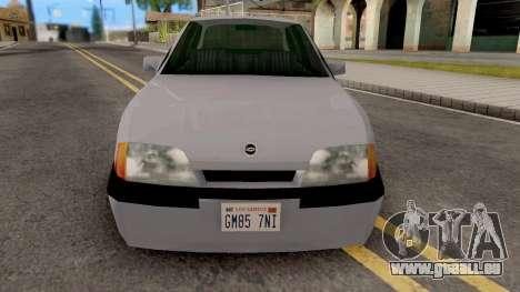 Chevrolet Omega SA Style pour GTA San Andreas