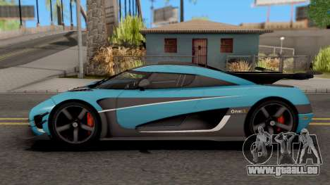 Koenigsegg One:1 2015 pour GTA San Andreas