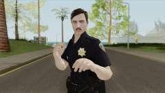 GTA Online Random Skin 18 SFPD Officer für GTA San Andreas