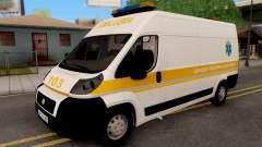 Fiat Ducato Ukraine Ambulance
