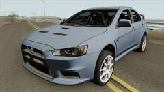 Mitsubishi Lancer Evolution X HQ für GTA San Andreas
