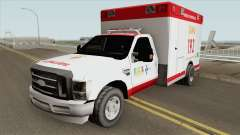 Ford F-4000 Samu LowPoly für GTA San Andreas
