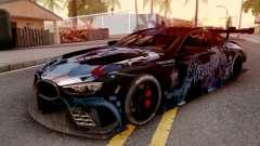 BMW M8 GTE Itasha Prinz Eugen pour GTA San Andreas