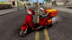 Pizzaboy GTA VC pour GTA San Andreas