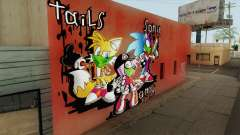 Sonic Wall Graffiti pour GTA San Andreas