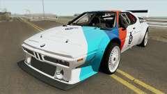 BMW M1 Procar 1979 für GTA San Andreas