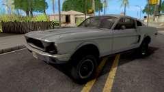 Ford Mustang Fastback GT390 Bullitt 1968 pour GTA San Andreas