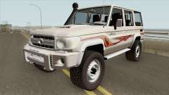 Toyota Land Cruiser LC76 V1 pour GTA San Andreas