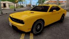 Dodge Challenger SRT8 Yellow pour GTA San Andreas