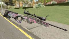 Sniper Rifle (High Quality) pour GTA San Andreas