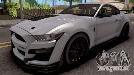 Ford Mustang Shelby GT500 2019 für GTA San Andreas