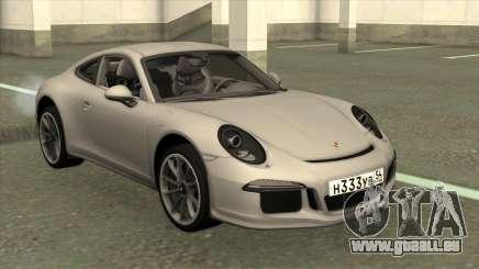 Porsche 911 R 2016 Stock pour GTA San Andreas