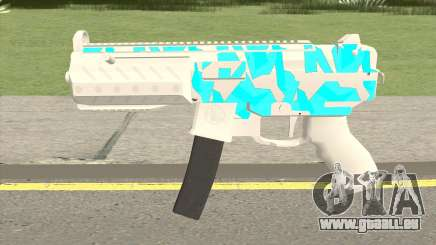 Submachine Gun MK2 (Ice) für GTA San Andreas