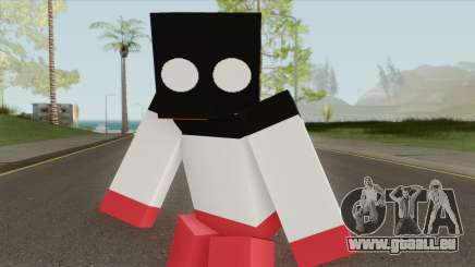 Reichtangle (Minecraft) Skin pour GTA San Andreas