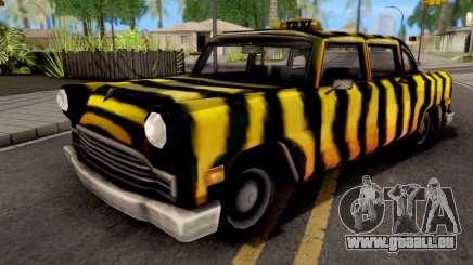 Zebra Cab GTA VC pour GTA San Andreas