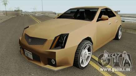 Cadillac CTS-V 2010 (SA Style) für GTA San Andreas